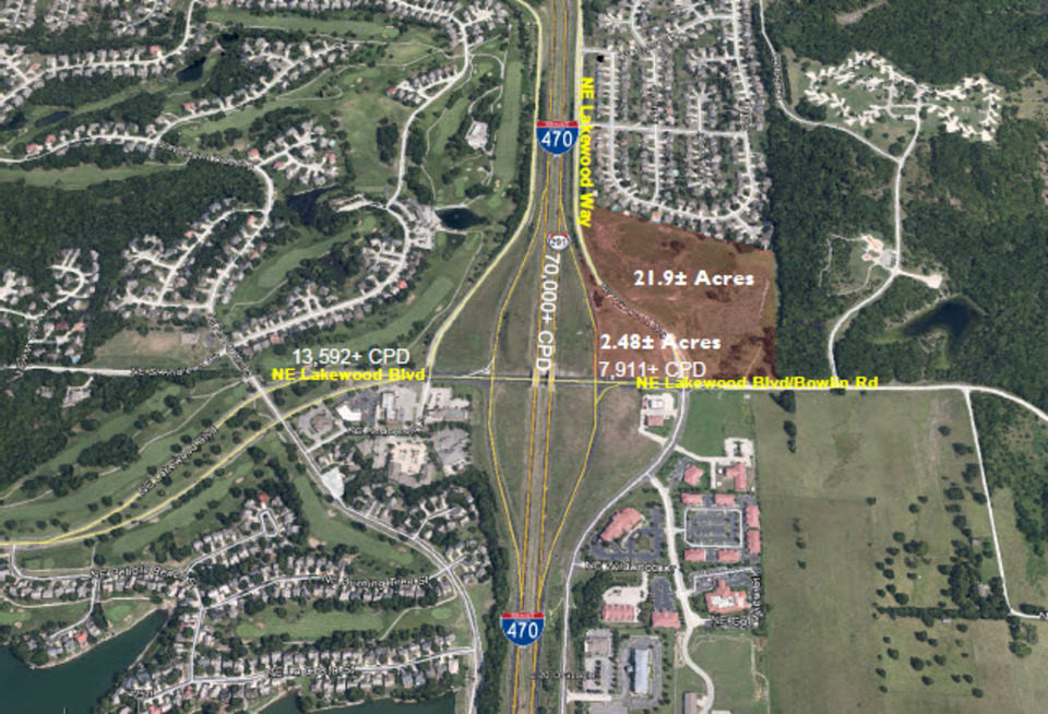I-470 & Lakewood Boulevard Lee's Summit Missouri 64136, ,Land,Lease,Lakewood,1115