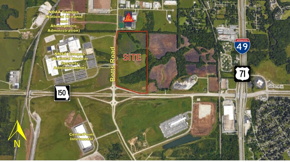 NEC of MO Highway 150 & Botts Road Kansas City Missouri 64147, ,Land,Sale,150 & Botts Road,1026