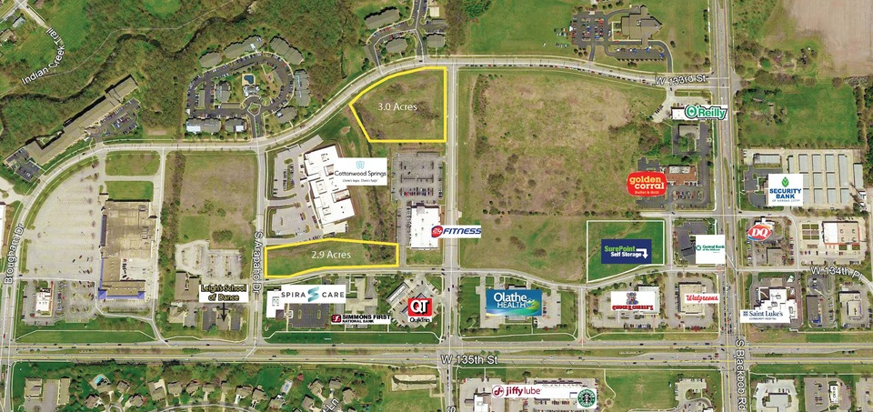 NEC 134th St. & Arapaho Drive Olathe Kansas 66062, ,Land,Sale or Lease,Arapaho Dr,1041